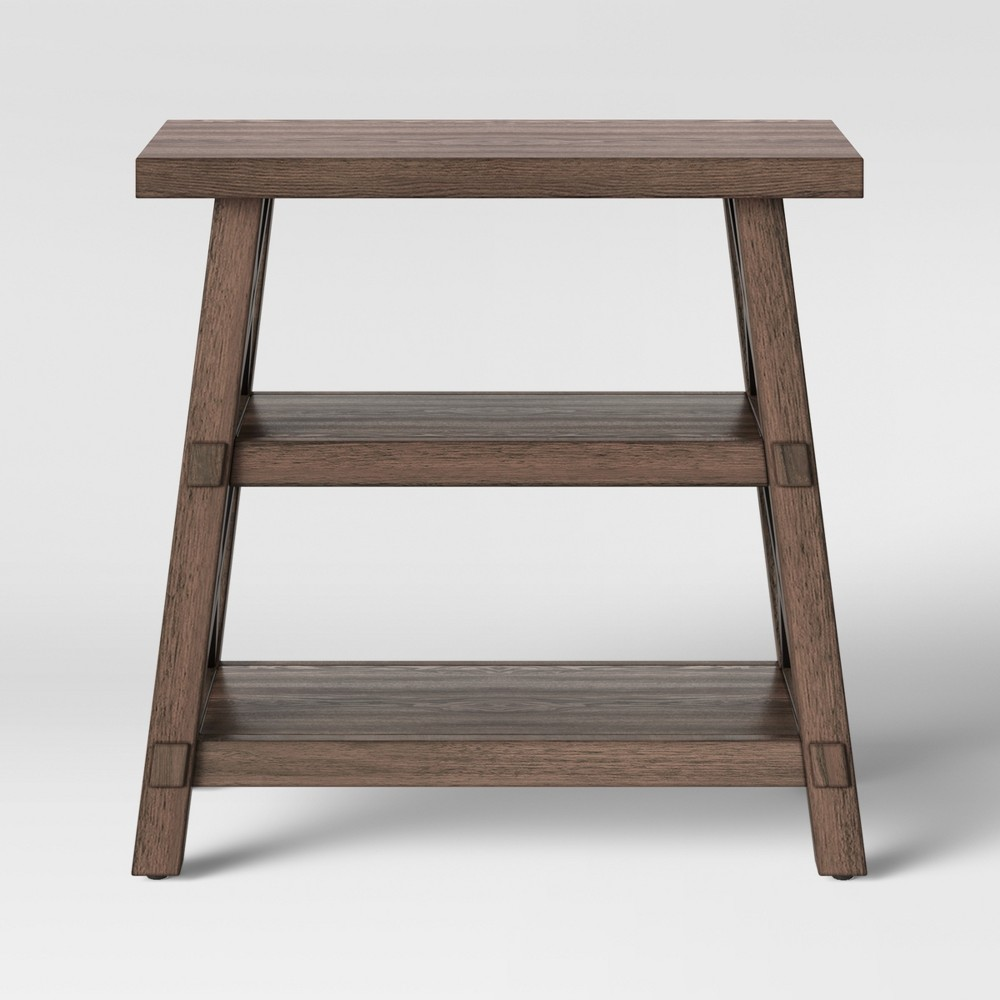 Bourne Side Table Brown - Threshold