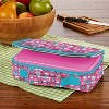 Fit & Fresh Bento Lunch Box Set with Insulated Carry Bag - Rainbow Owl - image 4 of 4