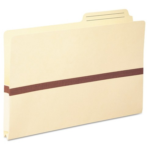Smead® One Inch Accordion Expansion File Pockets, 2/5 Tab, Legal, Manila - image 1 of 2