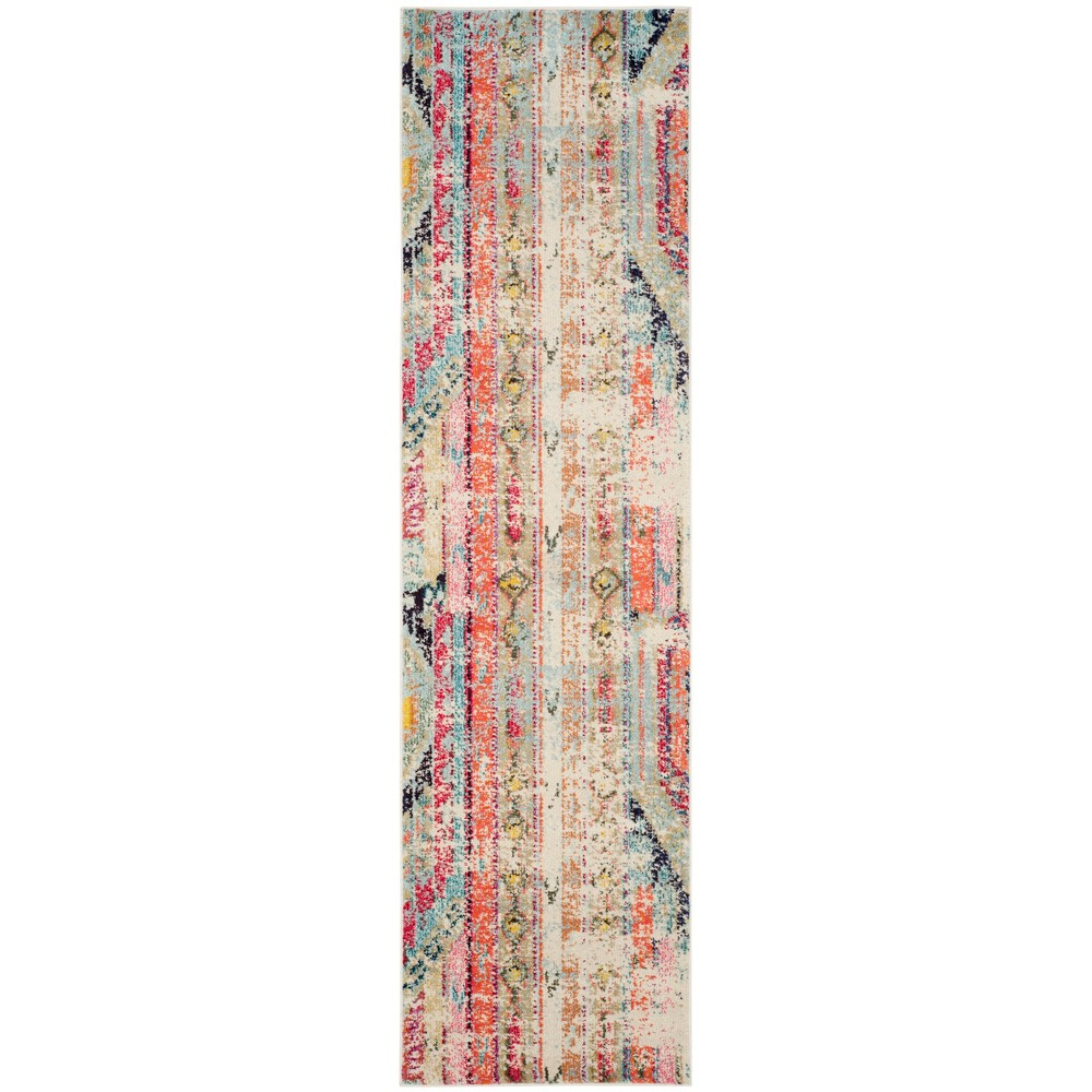 Loomed Tribal Design Runner Rug