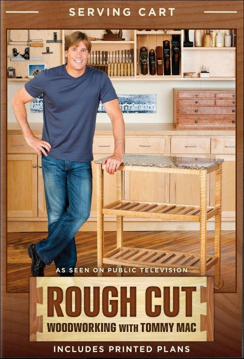 Rough cut season 2:Woodworking with t (DVD) - image 1 of 1