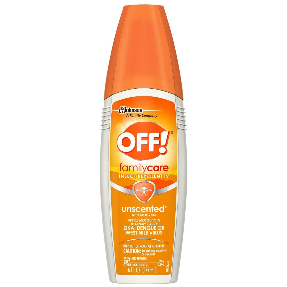 Image of OFF! 6oz FamilyCare Insect Repellent Unscented