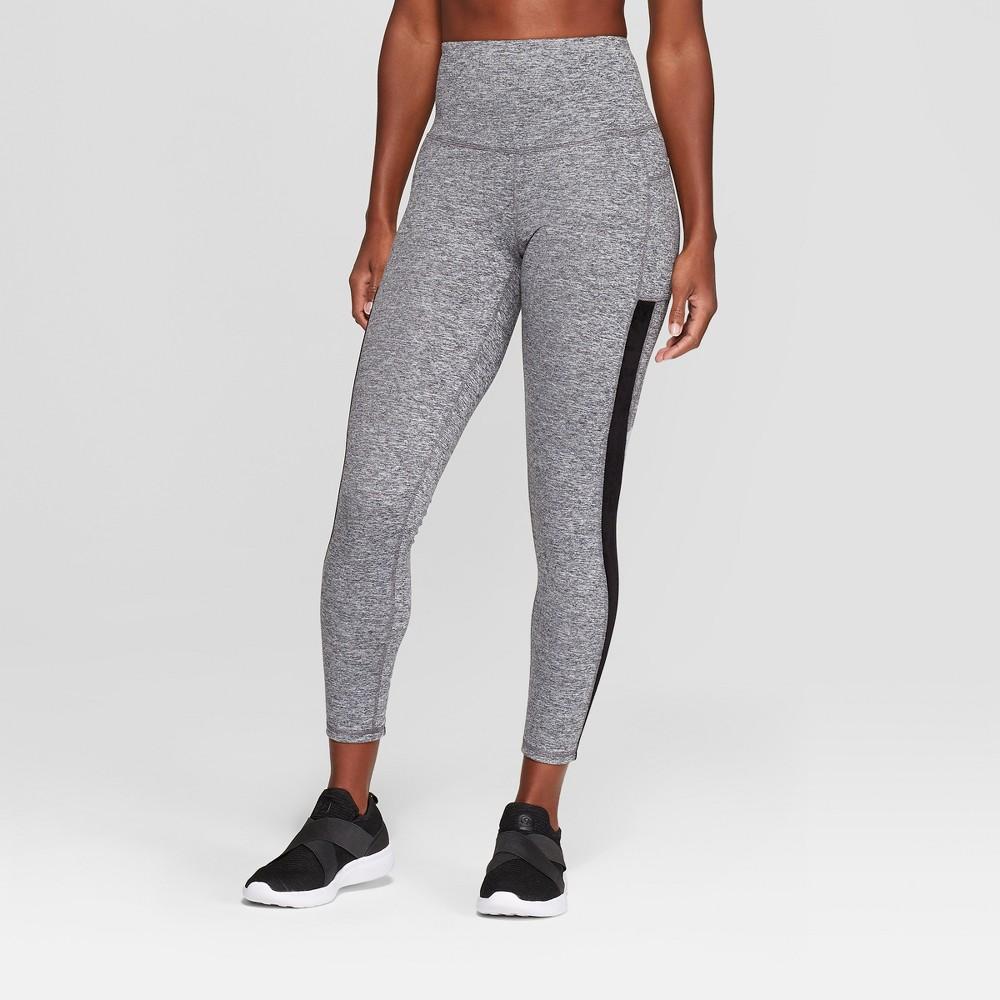 Women's Studio High-Waisted Leggings 25 - C9 Champion Black Heather S