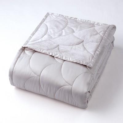Full/Queen Reversible Blanket Gray - Nikki Chu