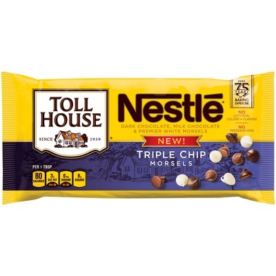 Baking Chips & Chocolate: Nestlé Toll House Triple Chip Morsels