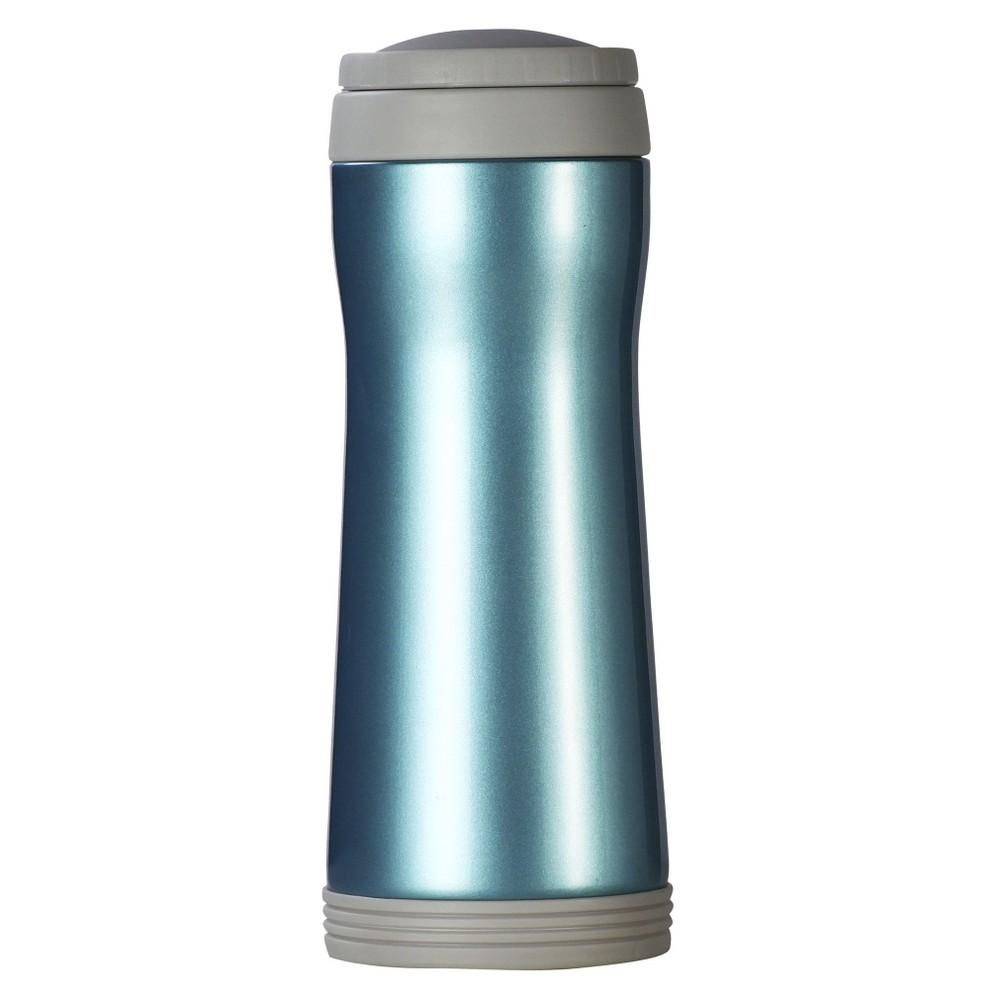 Image of AKTive Lifestyle Timolino Vacuum 12oz Mug with Infuser - Ocean Blue