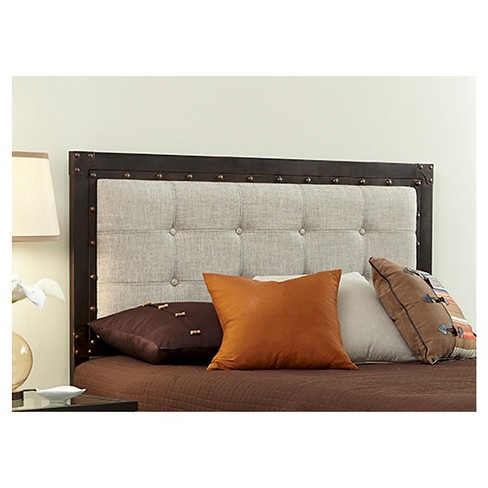 Gotham Headboard Latte/Brushed Copper (King) - Fashion Bed Group - image 1 of 1