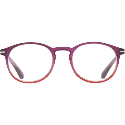 ICU Eyewear Screen Vision Blue Light Filtering Youth Round Purple Glasses - image 1 of 3