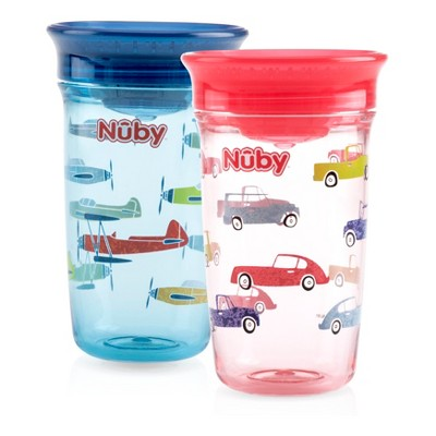 Nuby 2pk Spoutless Tritan - Boy