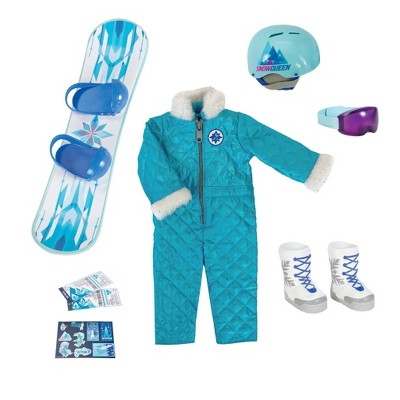 """Disney ILY 4ever 18"""" Elsa Inspired Deluxe Fashion and Accessory Pack"""