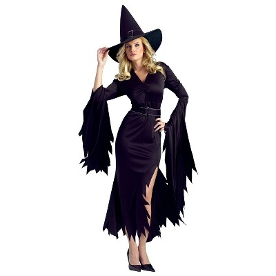 Adult Gothic Witch Halloween Costume M/L