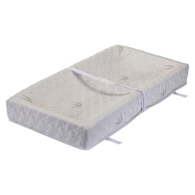 LA Baby 32  4 Sided Changing Pad - White