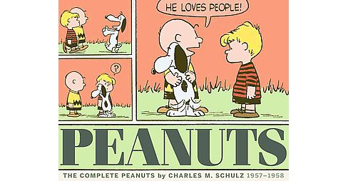 Complete Peanuts 1957-1958 (Paperback) (Charles M. Schulz) - image 1 of 1