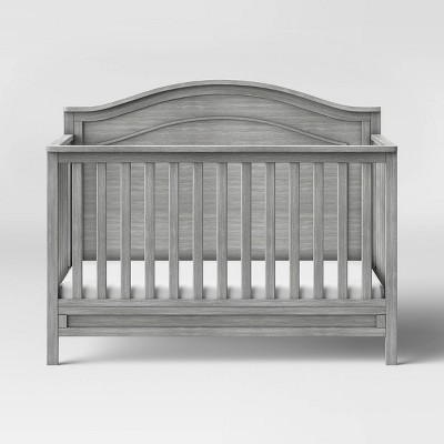 Davinci Charlie 4-In-1 Convertible Crib - Cottage Gray