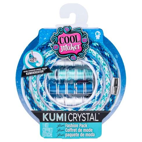 Cool Maker KumiCrystal Mini Fashion Pack (Blue/Light Teal/White) - image 1 of 3