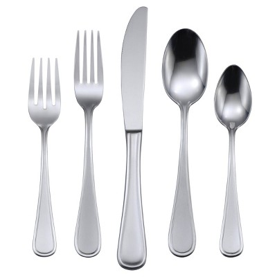Oneida 45pc Stainless Steel Accord Silverware Set