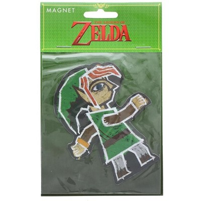 Just Funky The Legend of Zelda Link Painting 4-Inch Auto Magnet