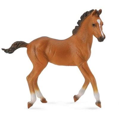 Breyer Animal Creations Breyer CollectA Series Bay Quarter Horse Foal Model Horse