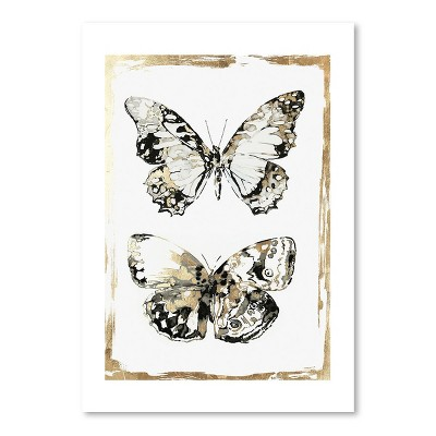 Americanflat Butterfly Wings by Pi Creative Art Poster