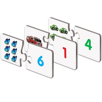 The Learning Journey Match It! Counting  30 self correcting puzzle sets
