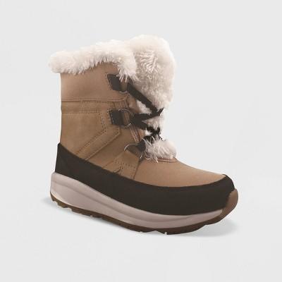 Girls' Kasey Winter Boots - Cat & Jack™ Tan 1