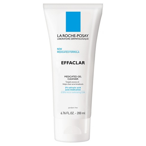 La Roche Posay Effaclar Medicated Gel Face Cleanser for Acne Prone Skin - 6.76 fl oz - image 1 of 3
