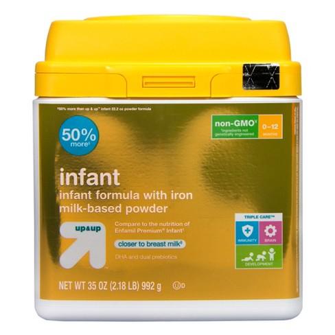 Infant Non-GMO Formula with Iron Powder - 35oz - Up&Up™ - image 1 of 4