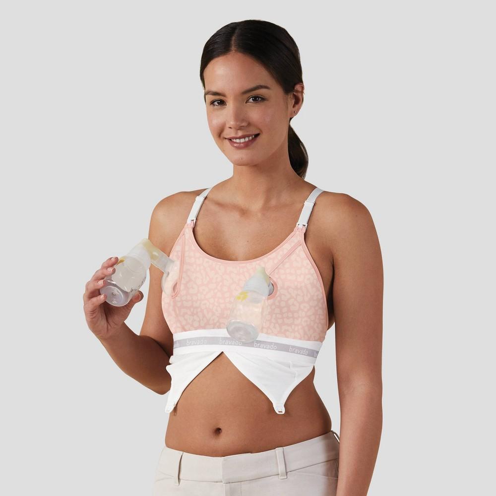 Coupons Bravado! Designs Women's eopard Print Cip and Pump Hands-Free Nursing Bra Accessory -