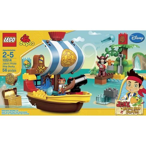 LEGOR DUPLOR Jakes Pirate Ship Bucky 10514