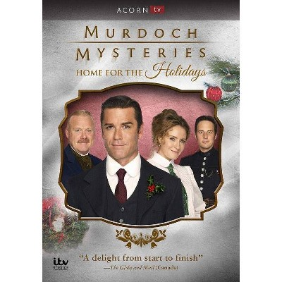 Murdoch Mysteries: Home for the Holidays (DVD)(2018)