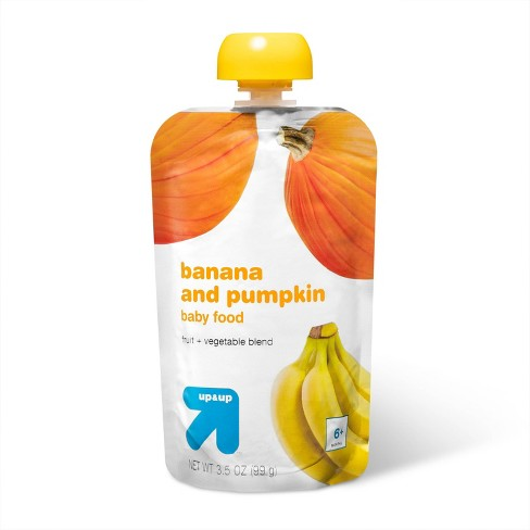 Stage 2 Banana and Pumpkin Baby Meals - 3.5oz - up & up™ - image 1 of 3