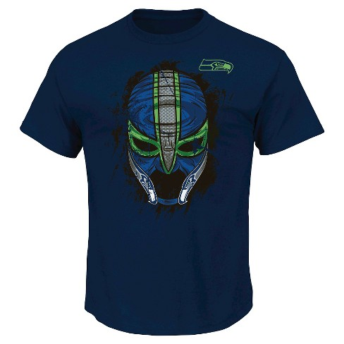 Seattle Seahawks Men's Mask T-Shirt XXL - image 1 of 1