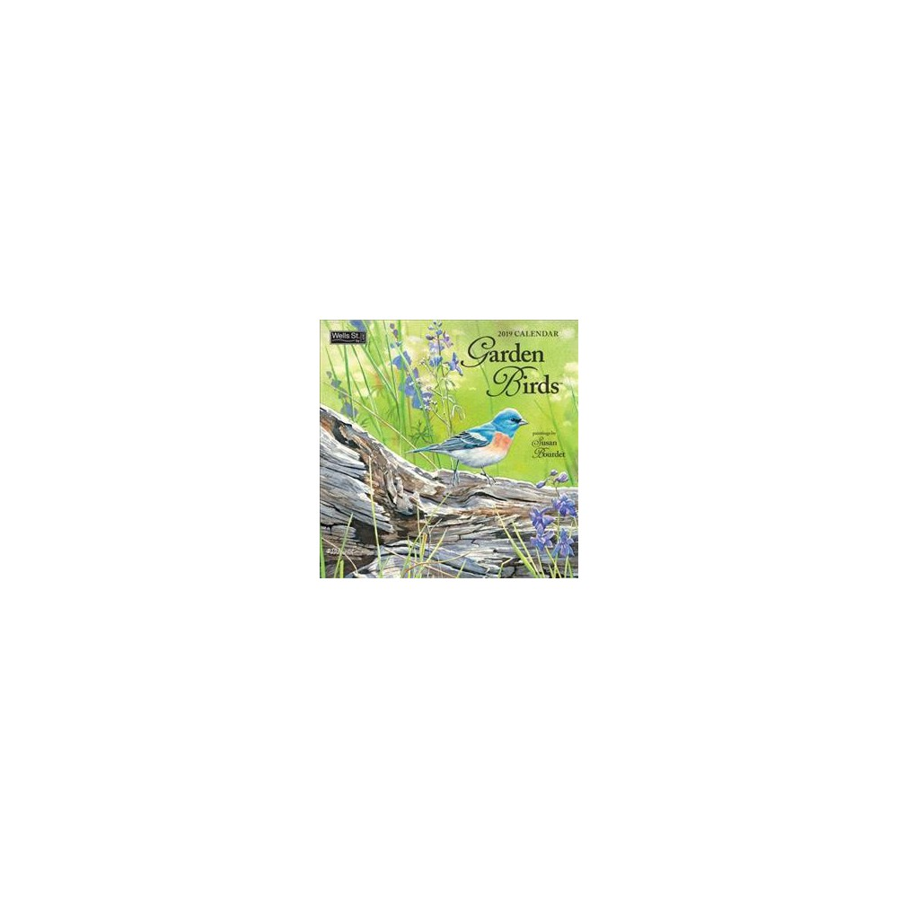 Garden Birds 2019 Calendar - (Paperback)