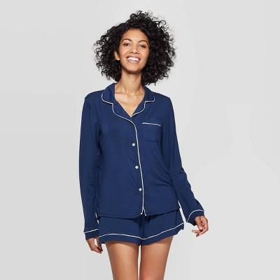 Women's Beautifully Soft Notch Collar Pajama Set - Stars Above™