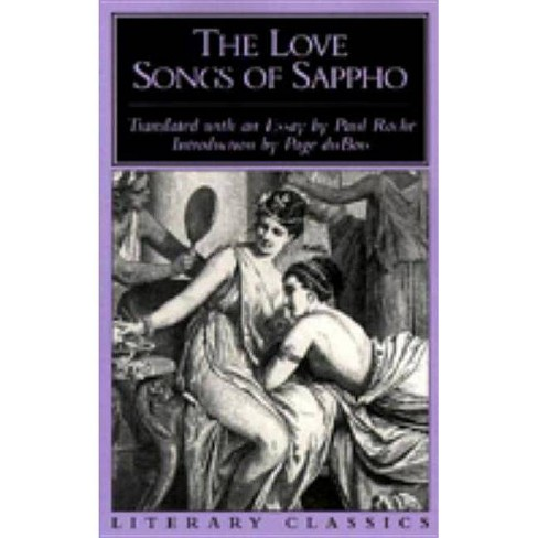 The Love Songs of Sappho - (Literary Classics) (Paperback) - image 1 of 1