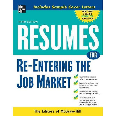 Resumes for Re-Entering the Job Market - (McGraw-Hill Professional Resumes) 3 Edition (Paperback) - image 1 of 1