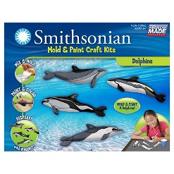 Smithsonian Mold & Paint Craft Kit - Dolphins