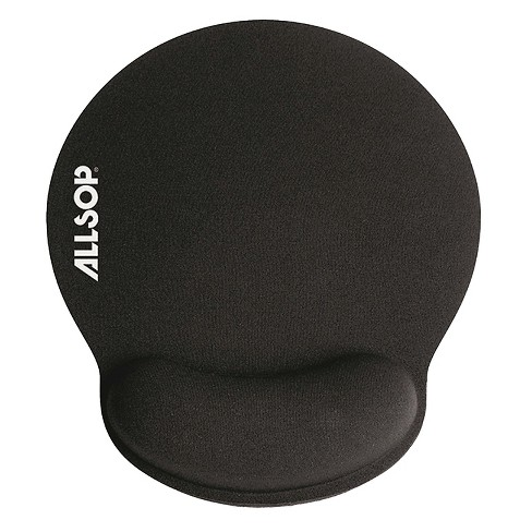 ALLSOP Mouse Pad with Wrist Rest - Black (30203) - image 1 of 2
