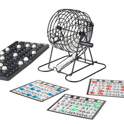 Toy Time Complete Bingo Set With Tumbler Cage and Accessories