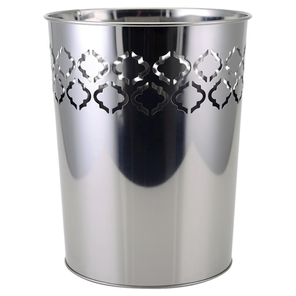 Trellis Wastebasket Metal - Allure