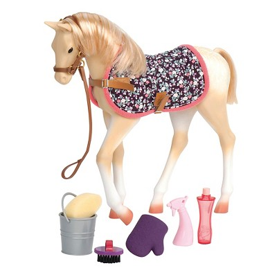 "Our Generation Palomino Horse Foal with Accessories for 18"" Dolls"