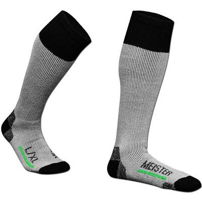 Meister Performance Wool Blend Socks 2 Pairs - Gray