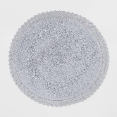 Round Bath Rug Gray - Opalhouse™