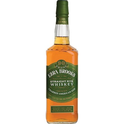 Ezra Brooks Straight Rye Whiskey - 750ml Bottle