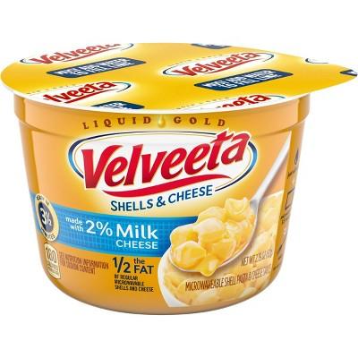 Velveeta Shells & Cheese made with 2% Milk Microwavable Cup - 2.19oz