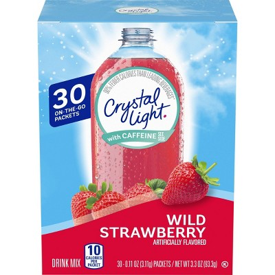 Crystal Light On the Go Wild Strawberry - 30pk/0.11oz Packets