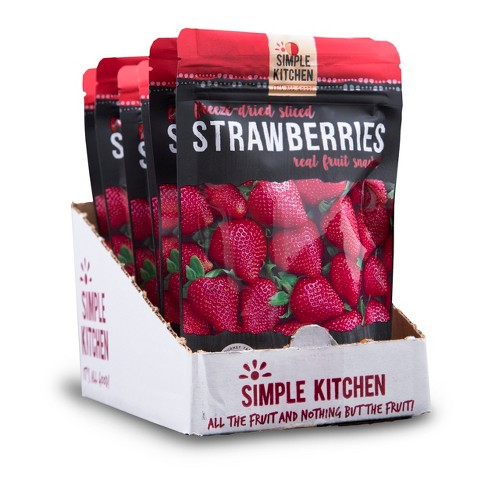 Wise Company Sliced Strawberries Freeze Dried 4.2oz/6ct - image 1 of 3