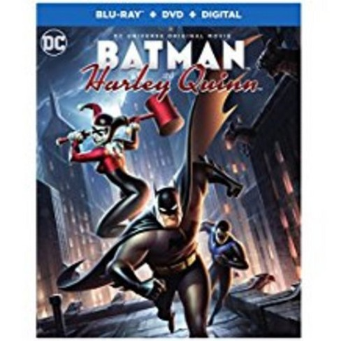 DCU: Batman And Harley Quinn (Blu-ray + DVD) - image 1 of 1