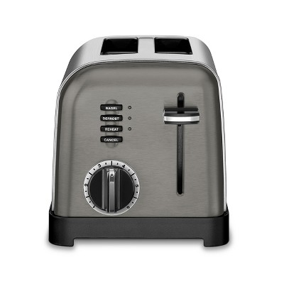 Cuisinart Classic 2 Slice Toaster - Black Stainless