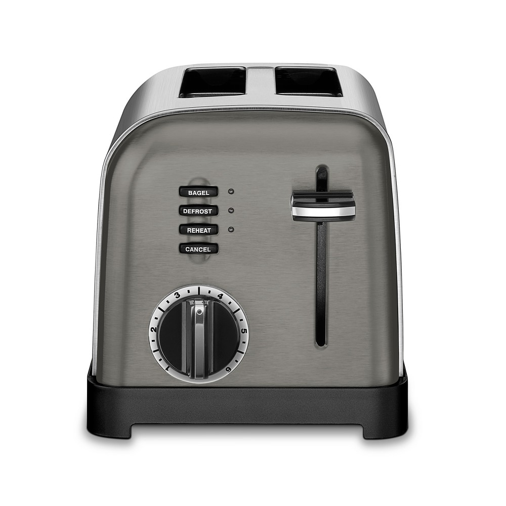 Cuisinart Classic 2 Slice Toaster – Black Stainless, Dark Silver 53675557